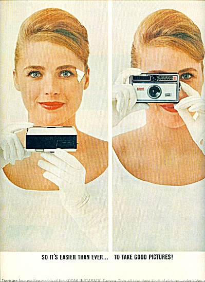 Kodak instamatic camera ads 1963 (Image1)