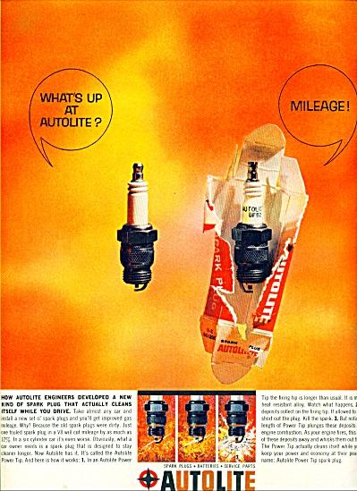 Autolite spark plugs ad 1963 (Image1)
