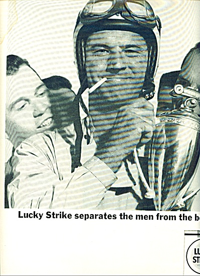 Lucky Strike cigarettes ads 1963 (Image1)