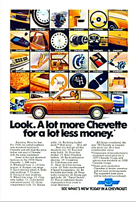 Chevrolet Chevette ad for 1978 (Image1)