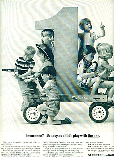 Securance by Nationwide insurance ad 1963 (Image1)