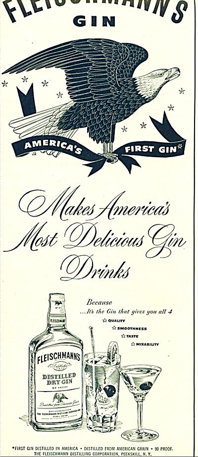 Fleischmann's gin ad (Image1)