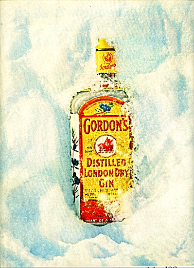 Gordon's distilled london dry gin ad (Image1)