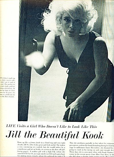 JILL ST. JOHN  - movie star story 1963 (Image1)