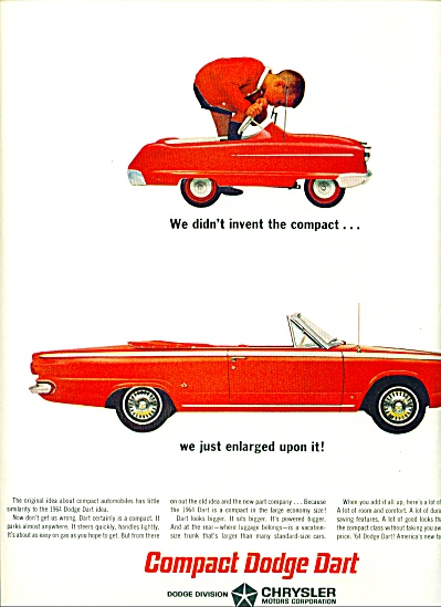 Dodge Dart automobile for 1964 (Image1)