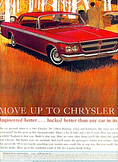 Chrysler automobile for 1964 (Image1)