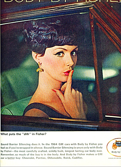 1964 Body by Fisher AD Elegant Model Woman  SHHHH (Image1)