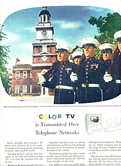 Bell telephone system ad 1954 (Image1)