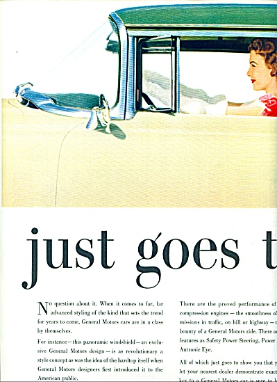 General Motors ad 1954 (Image1)