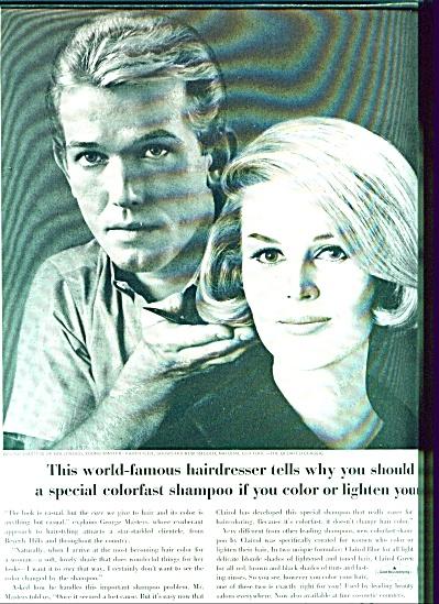 Clairol shampoo ad 1963 (Image1)