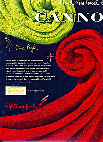 Cannon towels ad (Image1)