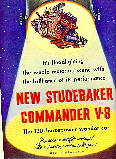 Studebaker Commander V-8 ad 1951 (Image1)