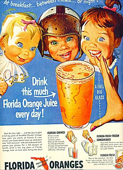 Florida oranges ad (Image1)