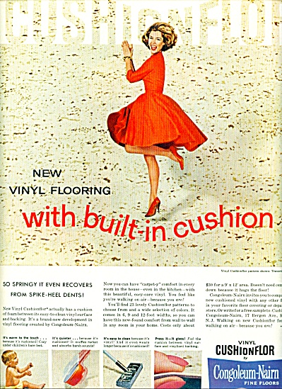 Congoleum-Nairn fine floors ad 1963 (Image1)