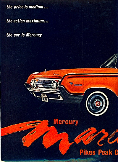 Mercury Marauder For 1964 Ad