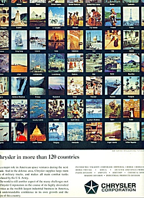 Chrysler Corporation world ad 1963 (Image1)
