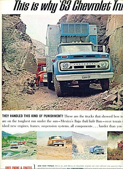 1963 Chevrolet CHEVY 2pg TrucksAD (Image1)