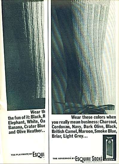 Esquire socks - 1963 (Image1)
