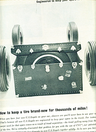 1963 U.s.royal Tires Ad