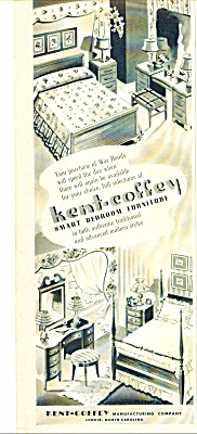 Kent-coffey smart bedroom furniture ad 1943 (Image1)