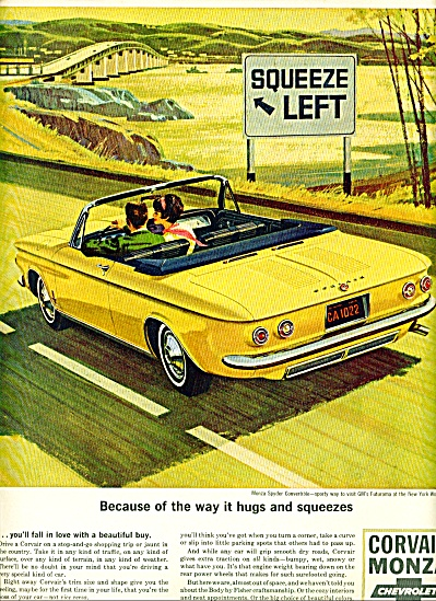 Chevrolet Corvair monza ad 1964 (Image1)
