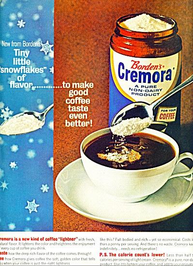 Borden's Cremora - non dairy product ad 1964 (Image1)
