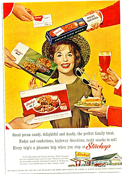 Stuckey's Pecan Shops Ad 1964