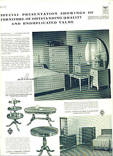 John Widdicomb company  - furniture 1942 (Image1)