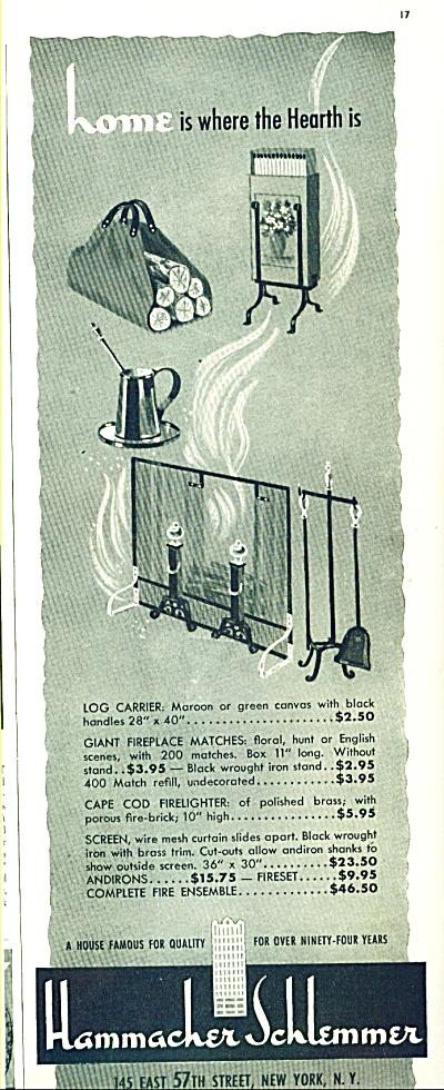 Hammacher Schlemmer ad 1942 (Image1)