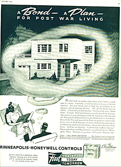 Minneapolis-Honeywell controls ad 1942 (Image1)