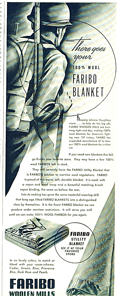 Faribo woolen mills ad 1942 (Image1)