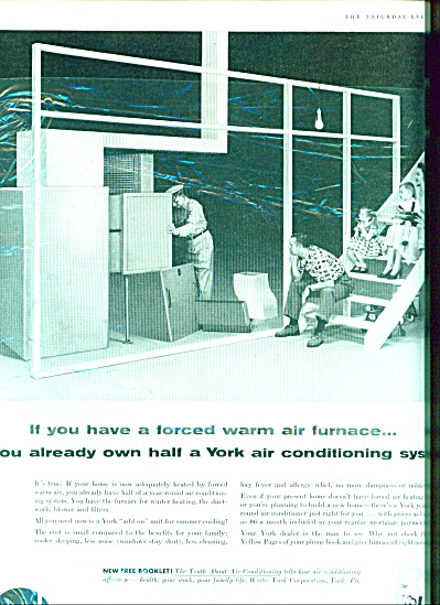 York Refrigeration Air Conditioning Ad