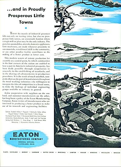 Eaton Manufacturing company ad 1946 (Image1)