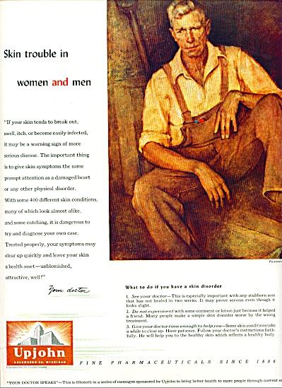 Upjohn fine pharmaceuticals ad 1946 (Image1)