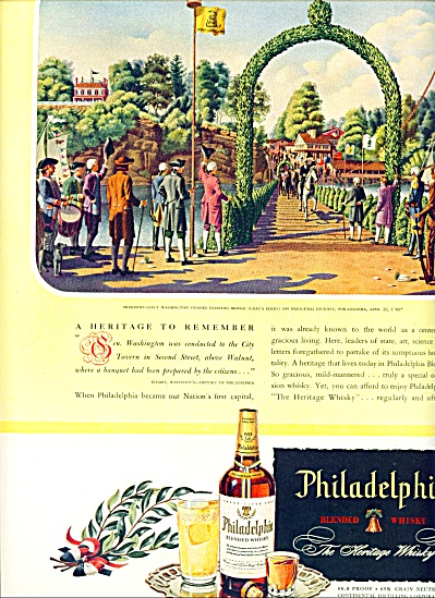 Philadelphia whisky ad 1946 JAMES BINGHAM (Image1)