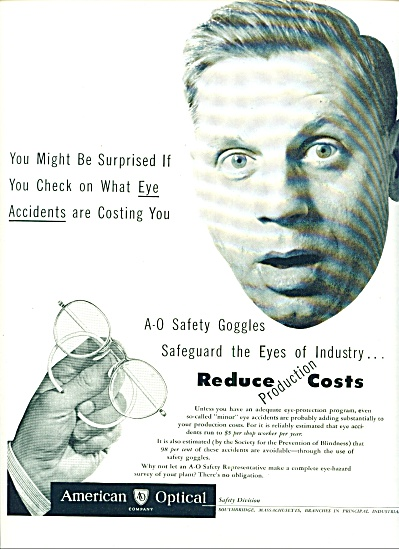 American Optical company ad 1946 (Image1)