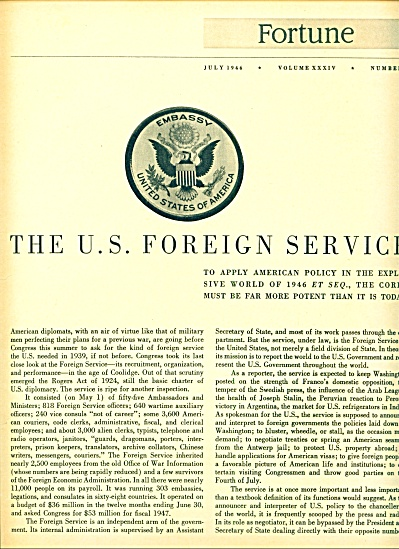 The U. S. Foreign service story  1946 (Image1)