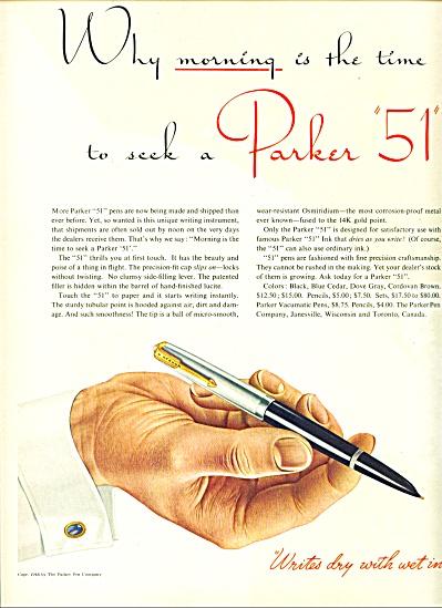 1946 PARKER AD Boris Artzybasheff ART (Image1)