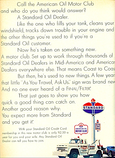 Standard Oil Dealer ad 1967 (Image1)