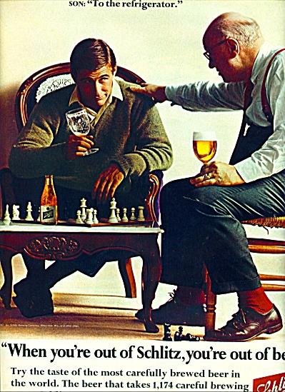 Schlitz beer ad 1967 (Image1)