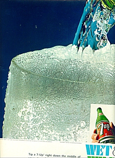 7 Up - Wet and wild ad 1967 (Image1)