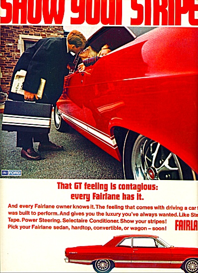 Fairlane automobile ad 1967 (Image1)