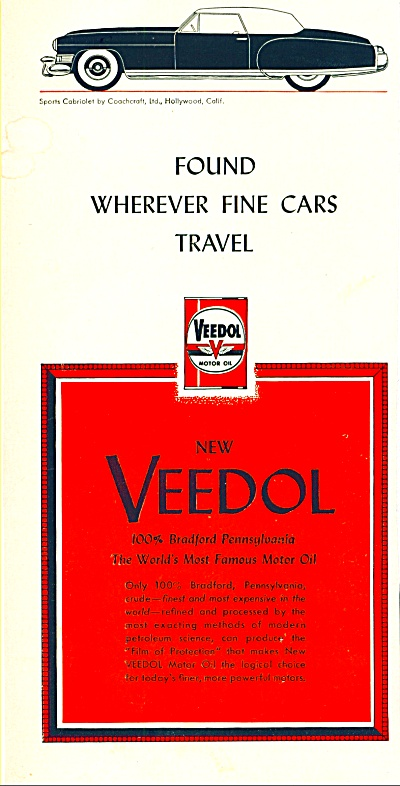 Veedol motor oil ad (Image1)