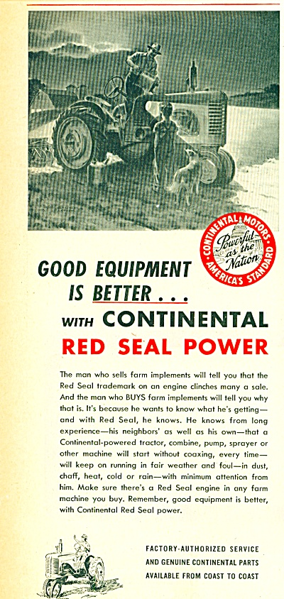 Continental Motors Corporation - REd seal pow (Image1)