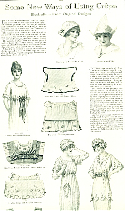 1914 Vintage WOMEN in CLOTHING Design AD Arti (Image1)