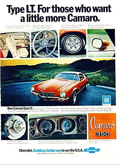 Chevrolet Camaro 350 ad 1973 (Image1)