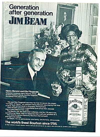 Jim Beam bourbon whiskey - HENRY MANCINI (Image1)