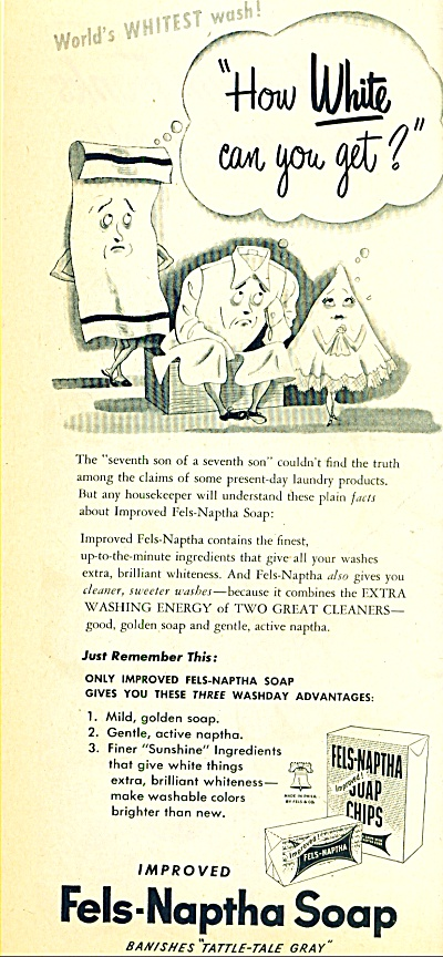 Fels Naptha soap ad 1950 (Image1)