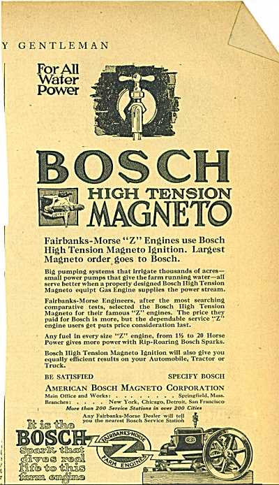 Bosch high tension magneto ad 1919 (Image1)
