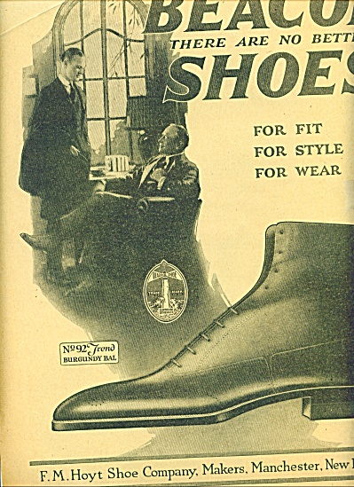 Beacon shoes ad 1920 (Image1)